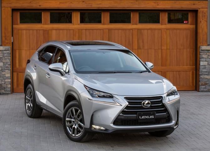 2015 Lexus NX Garage