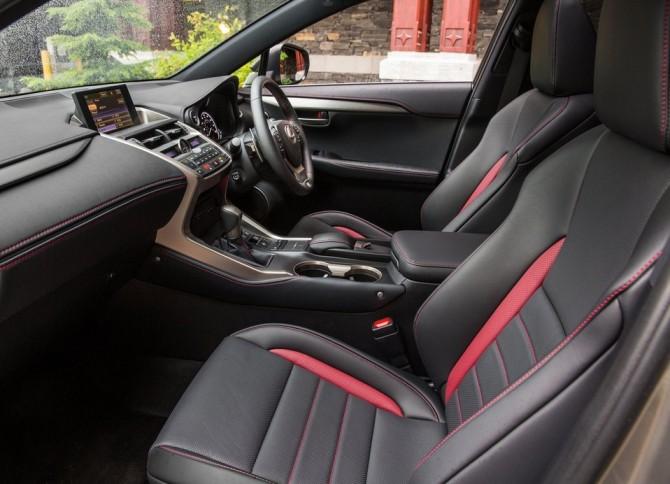 2015 Lexus NX Interior Side View