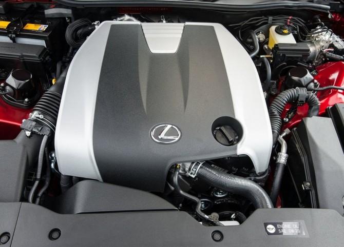 2015 Lexus RC350 Engine