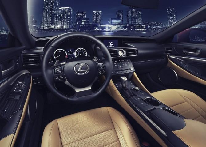 2015 Lexus RC350 Interior