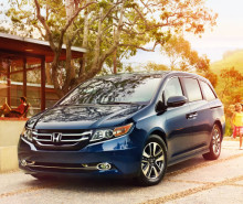 2015 Honda Odyssey reviews of design