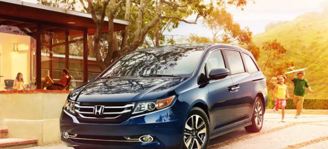 2015 Honda Odyssey reviews of design