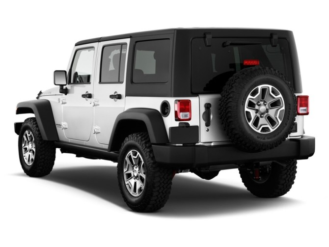 2015 Jeep Wrangler Rear Left Side