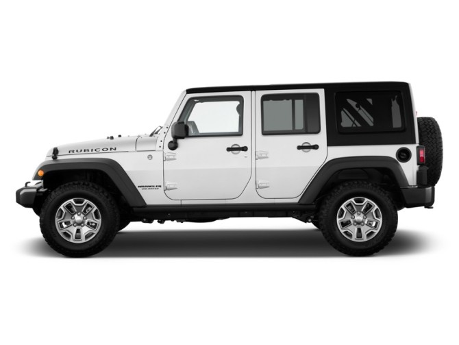 2015 Jeep Wrangler Side View