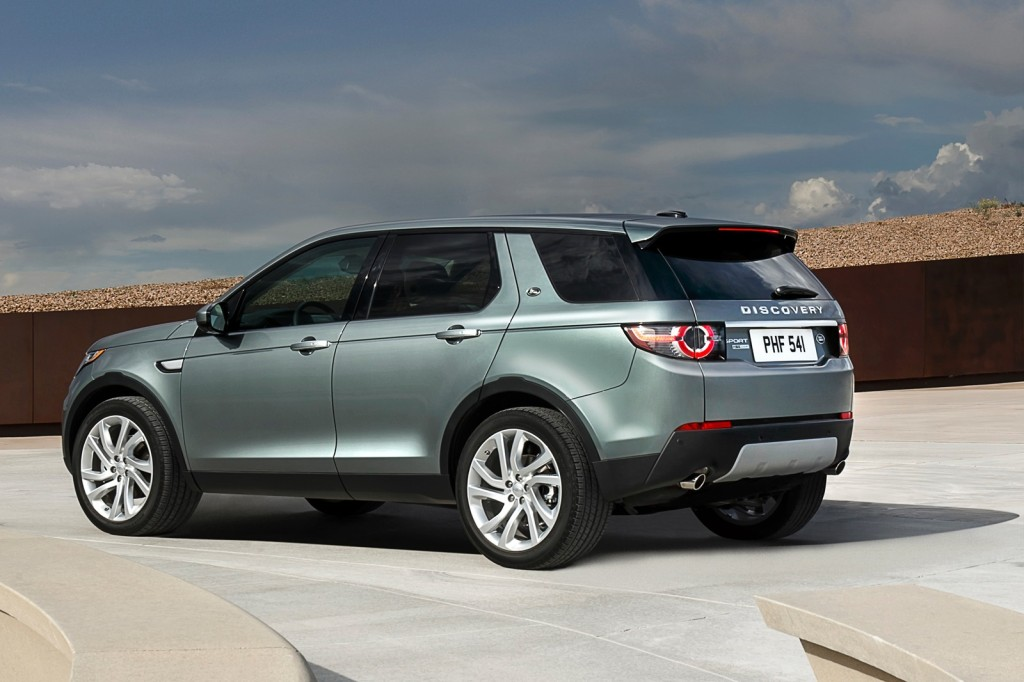 2015 Land Rover Discovery Sport changes
