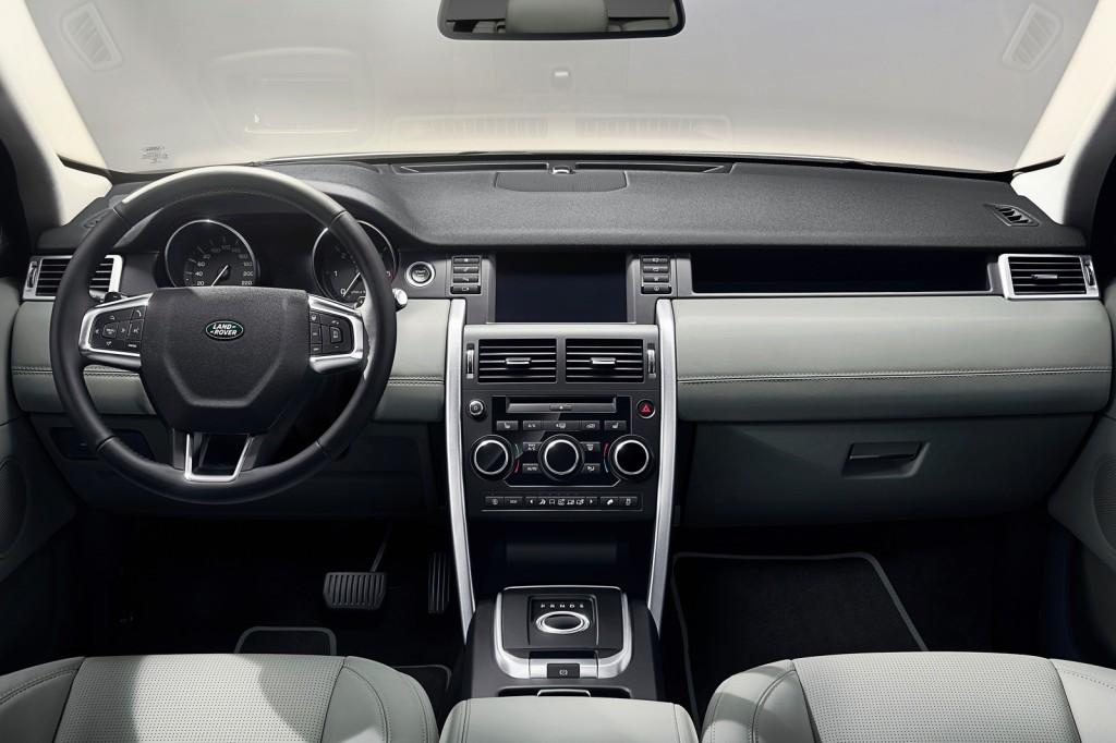 Land Rover 7 passenger SUV interior