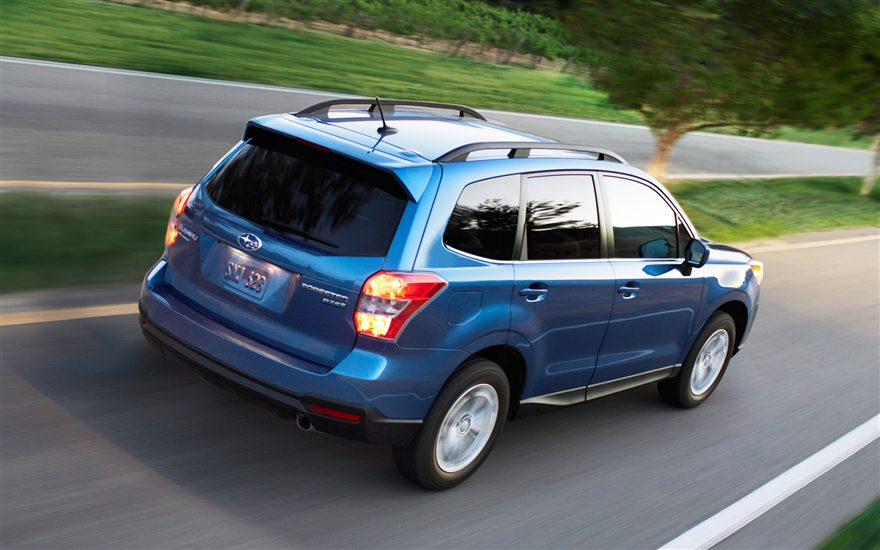 Forester Subaru 2015 small SUV