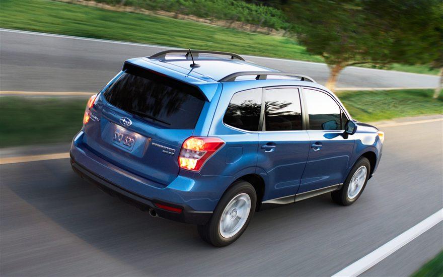 Forester Subaru 2015 small SUV