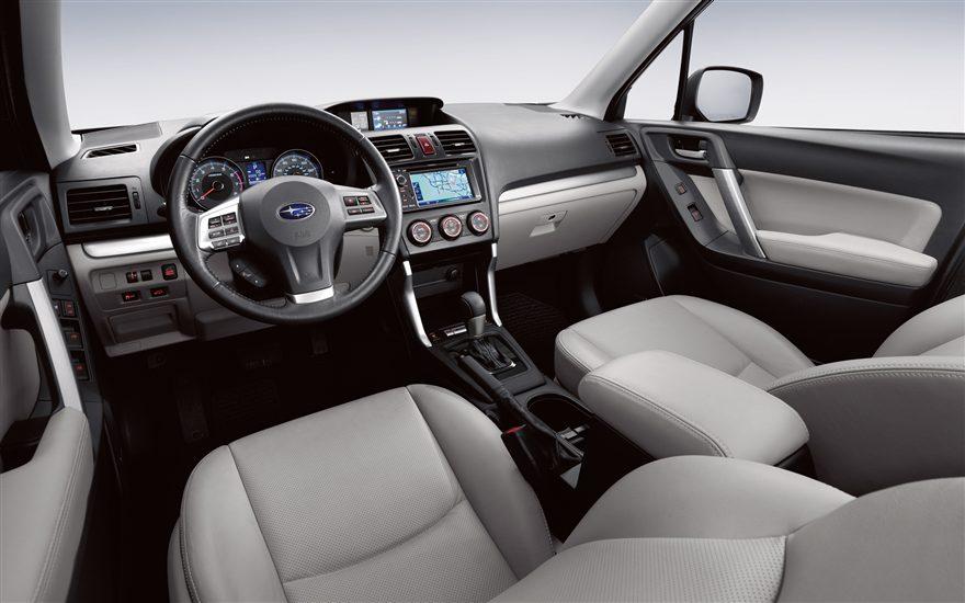 2015 Subaru Forester interior