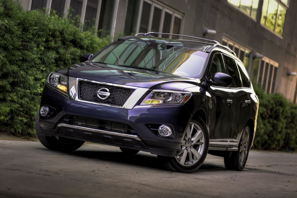 2015 Nissan Pathfinder towing capacity