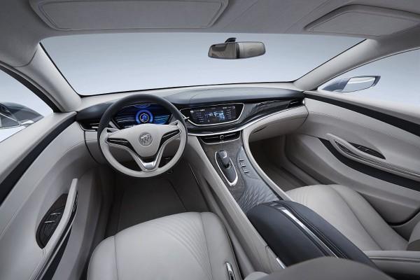 2016 Buick Avenir interior