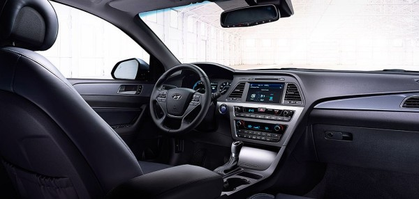 2016 Sonata Hybrid interior