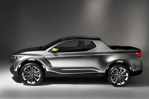 Hyundai Santa Cruz 2017 Crossover Truck Concept