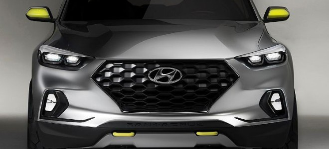 2017 Hyundai Santa Cruz Crossover Truck Concept