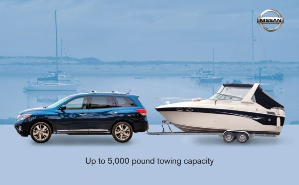 2016 Nissan Pathfinder towing capacity