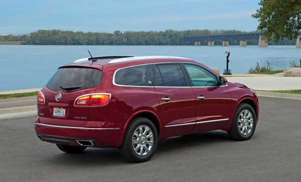 New model Buick Enclave luxury crossover SUV