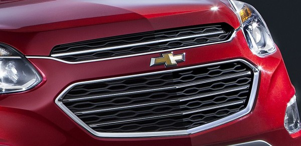 2016 Chevy Equinox crossover SUV redesign