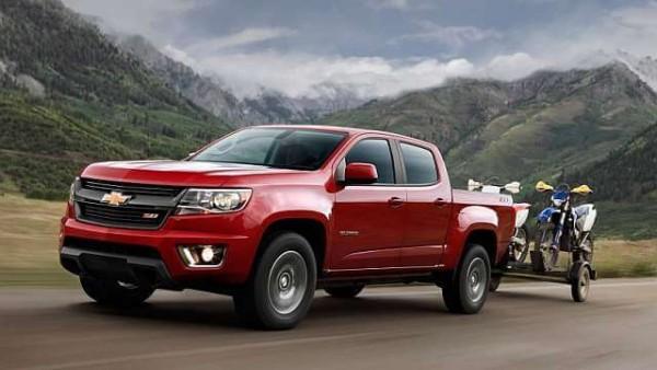 New Chevrolet Colorado 2016 towing capacity