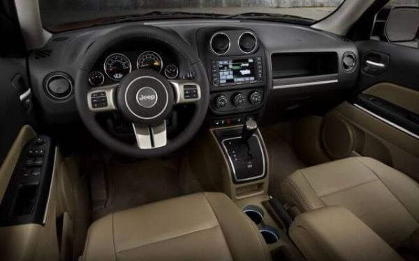 Jeep Patriot 2016 interior