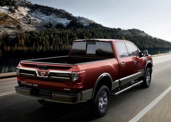 2016 Nissan Titan diesel towing capacity