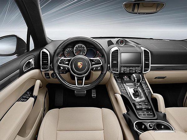 2016 Porsche Cayenne interior facelift