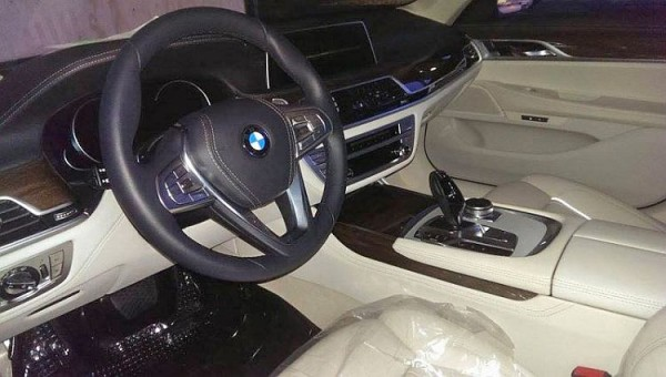 2016 BMW 7-series interior