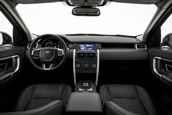 2016 Land Rover Discovery Sport interior redesign