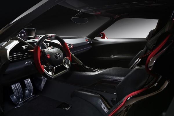 Toyota Supra 2016 interior
