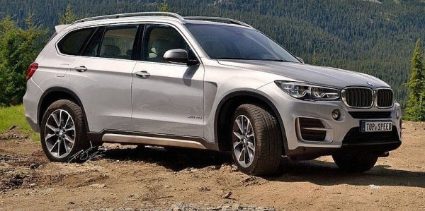 BMW X7 2016 large SUV