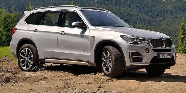 BMW X7 2016 large SUV