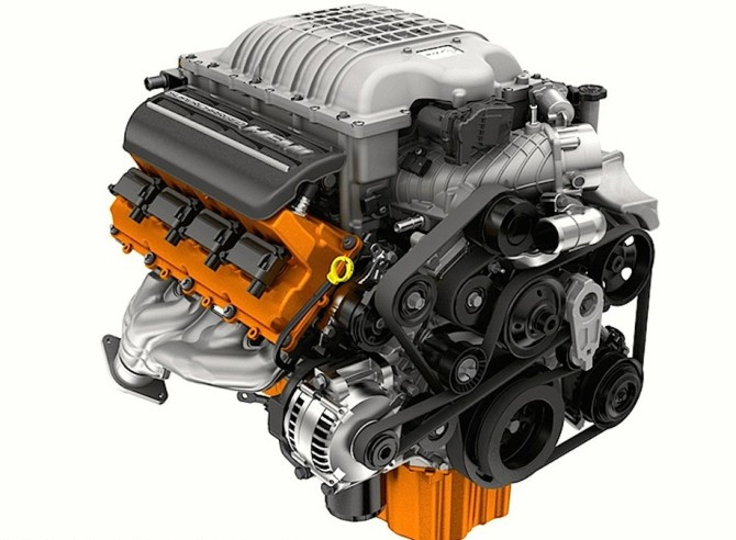 2016-Jeep-Grand-Cherokee-SRT Engine