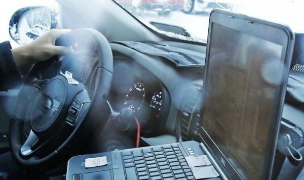2016 Kia Sportage crossover SUV interior