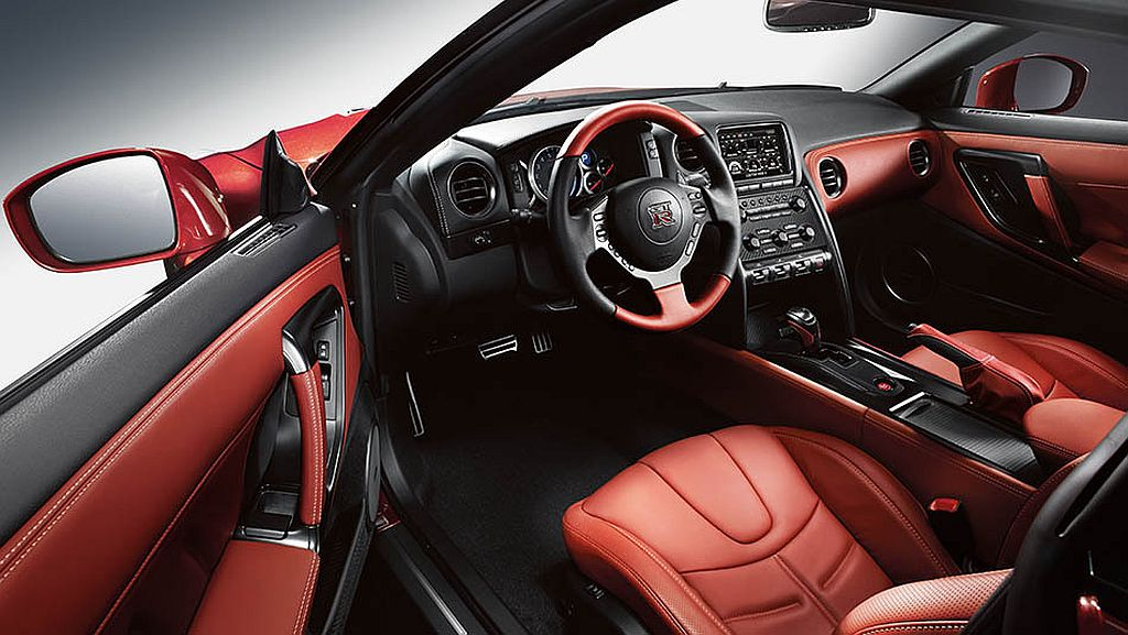Interior. Again In New Nissan GTR ...