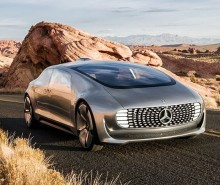 Mercedes Benz F015 Luxury in Motion concept