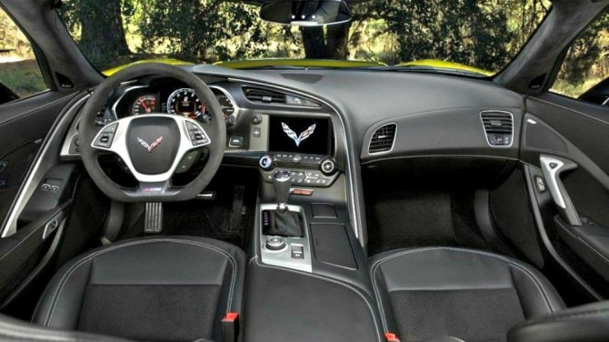 2016 Chevrolet Corvette Z06 C7.R Interior