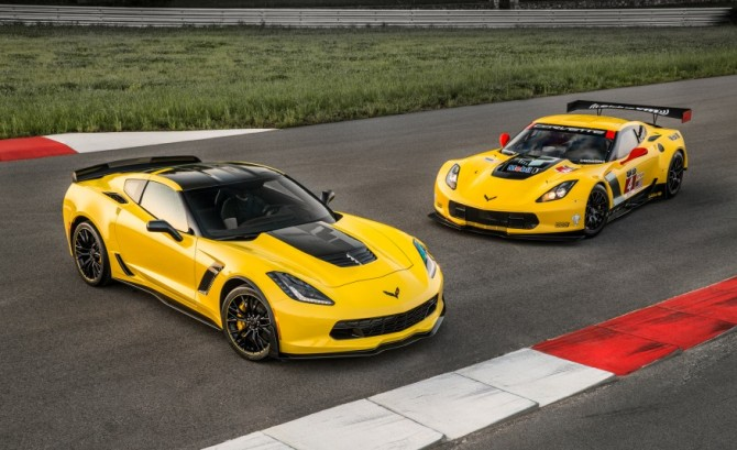 2016 Chevrolet Corvette Z06 C7.R Race Car