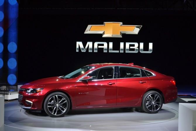 2016 Chevrolet Malibu Hybrid Exterior