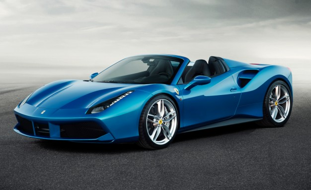 2016 Ferrari 488 Spider Front Side View