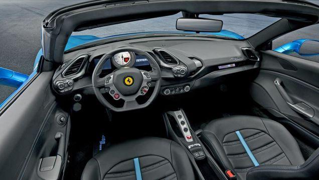 2016 Ferrari 488 Spider Interior