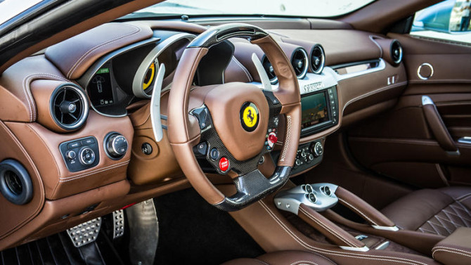 2016 Ferrari FF Interior