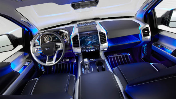 2016 Ford Atlas Interior