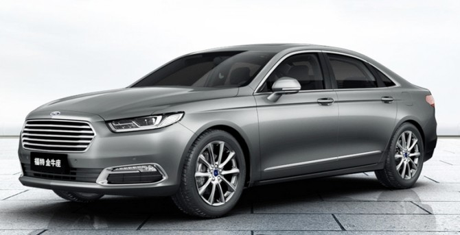 2016-Ford-taurus-CN-Version Metallic