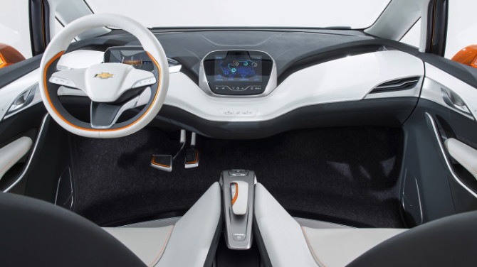 2017 Chevrolet Bolt Interior 2