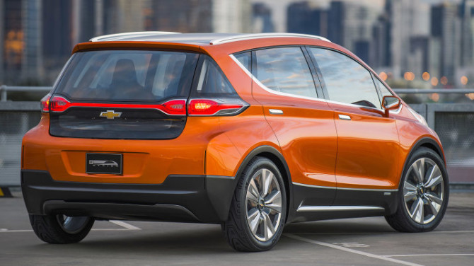 2017 Chevrolet Bolt Rear