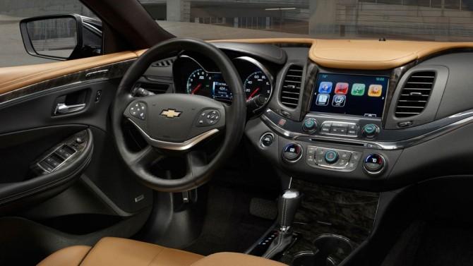 2015 Chevrolet Chevelle Interior