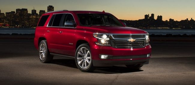 2015 chevrolet tahoe release date and price