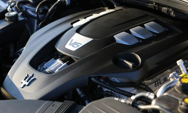 2015 Maserati Levante Engine