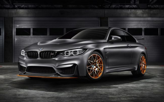 2016 BMW M4 GTS Front Side