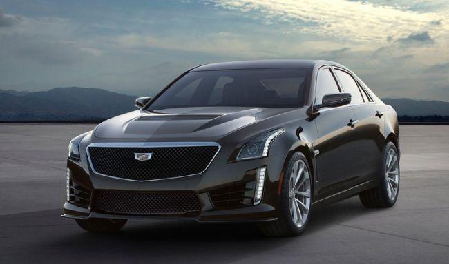 2016 Cadillac CTS-V Exterior