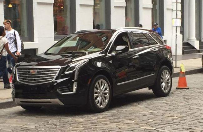 2016 Cadillac XT5 Exterior